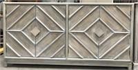 43 - NEW WMC EMERSON 4 DOOR SIDEBOARD ($599.95)