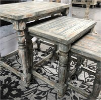 43 - NEW WMC 3PC SET OF NESTING TABLES ($145.95)