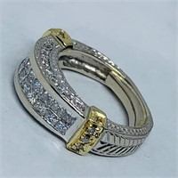 14KT WHITE GOLD 2.50CTS DIAMOND RING