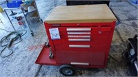 Tool Box with Five Drawers