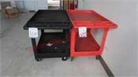 Plastic Cart with Wheels