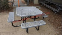 Metal Picnic Table  Rectangle