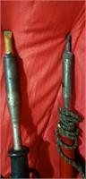 Vintage hot tools wood burning tool lot