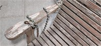 Oak Porch Swing.  Almost 6' across has Chains.