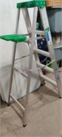 5' Werner Aluminum Folding Ladder