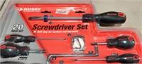 New Husky 20 piece Screwdriver set