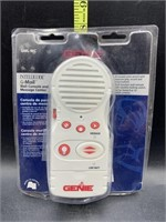 Genie intllicode g-mail wall console & message
