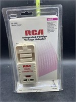 RCA integrates foreign voltage adapter - new