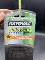 Rayovac universal battery charger - new