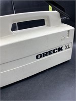 Oreck xl portable vacuum - works