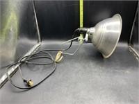 Clamp on heat lamp