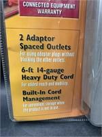 New 2 pack surge protectors
