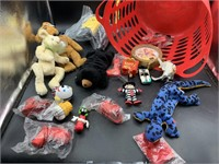 Beanie babies , Mc Donald's toys and more