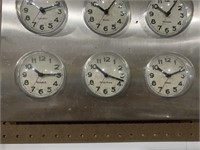 Different city time clock - 16x16
