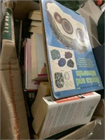 Large lot of books - stacked 2 rows deep - lots