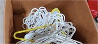 Lot of Plastic Coat Hangers