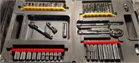 "P.M. 1/4 "" Drive Socket set   Complete Standard"