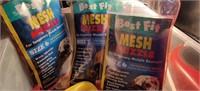 Pet Supplies, 3 Mesh Muzzles, leash, clippers