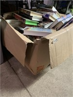 Large lot of vhs tapes