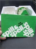 Spill & spell game