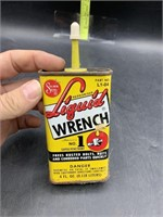 Liquid wrench approx 1/2 can