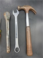Craftsman wrench, ratchet and more