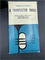 Realistic 8 transistor radio