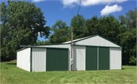 John Buerk Estate - 1.13 Acres with 48x48 Machine Shed