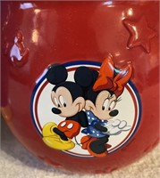 320 - DISNEY TINKERBELL & MICKEY MOUSE COOKIE JARS
