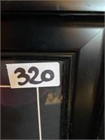 320 - FRAMED ELVIS PRESLEY TREAT ME RIGHT RECORD