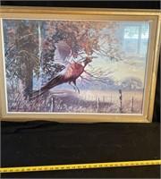 320 - SIGNED & NUMBERED SQUIRREL & BIRD ART