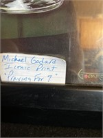 320 - LOT OF 3 MICHAEL GODARD WALL ART
