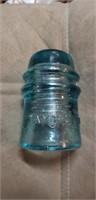 BLUE / AQUA AM Tel & Tel Co. Vintage Glass