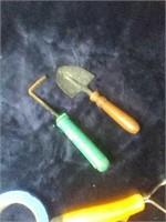 2 garden tools.