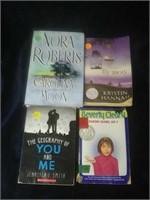 8 assorted books for teenage grade level.
