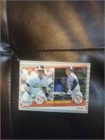 2 Jose Canseco Baseball cards. Fleer 1989 No.5