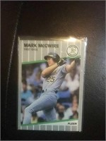 Oakland Athletics Mark McGwire First base player