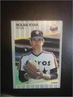 Astros pitcher Nolan Ryan player baseball card