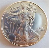 2011 - EAGLE SILVER DOLLAR