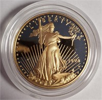 AMERICAN EAGLE 1994 1/2 OZ GOLD $25 DOLLAR  (4)