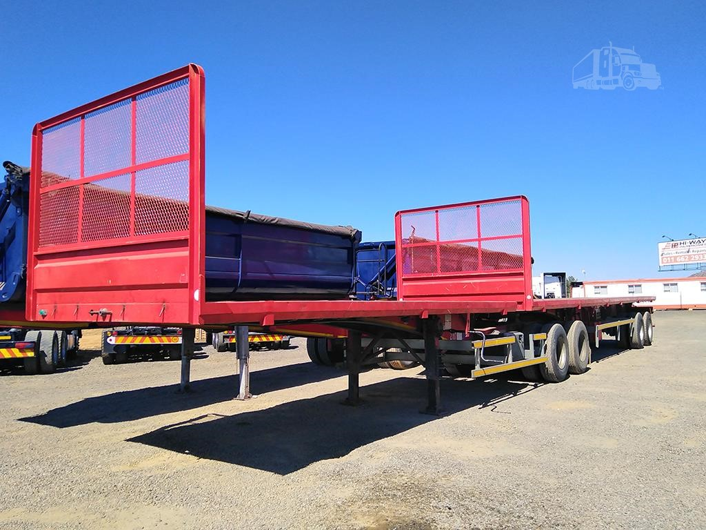 2013 Sa Truck Bodies Superlink Flat Deck Trailers Truckpaper Com