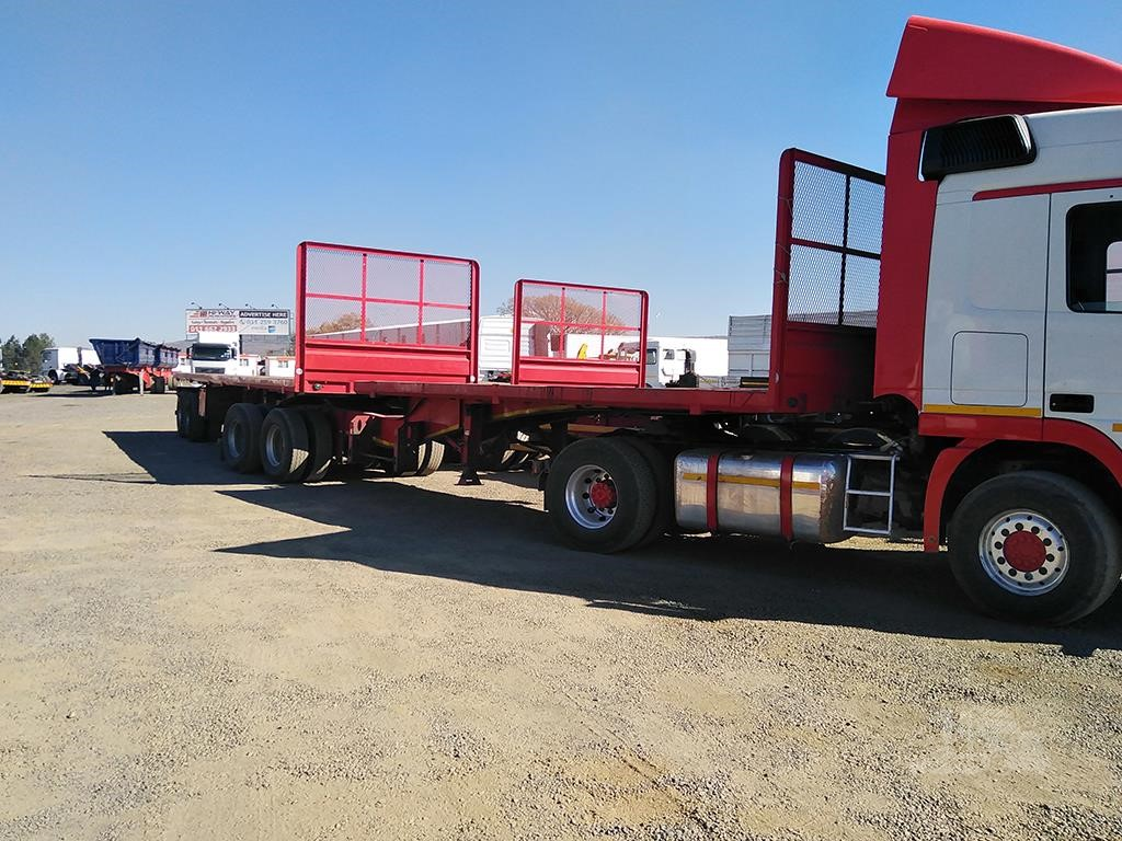 2014 Sa Truck Bodies Superlink Flat Deck Trailers Truckpaper Com