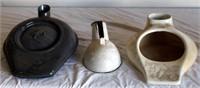 Enamel & Porcelain Urnial/Bed Pans