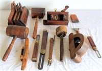 Vintage Wood Working/Carpenters Tools