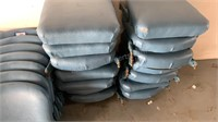Set of 14 Theater Chairs