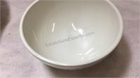 Rae Dunn Melamine Set- 3 Dinner Plates, 1 Salad