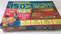 Vintage Science Fair Project Kit