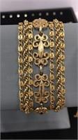 Assorted Vintage Costume Jewelry Bracelets Inc