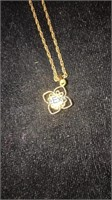 """Sorrento 12kt Gold Filled Rope Chain 18"""" w/12 kt"""