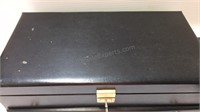 Lady Buxton Jewelry Box w/Contents Inc Sterling